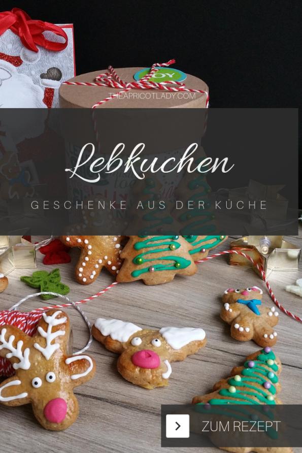 Lebkuchen liebevoll verzieren und als Geschenk zu Weihnachten verschenken. #kekse #geschenk #rezepte #lebkuchen #backen