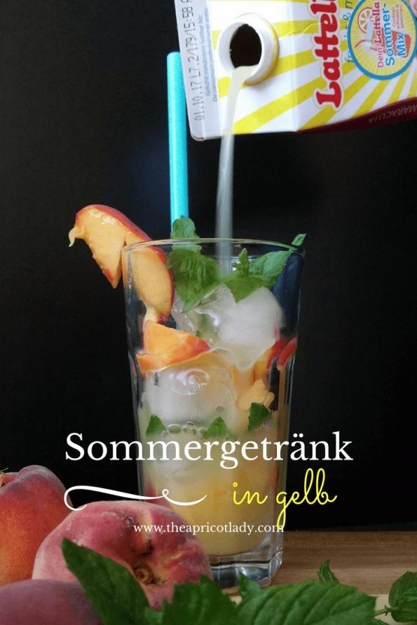 Sommergetränk in gelb