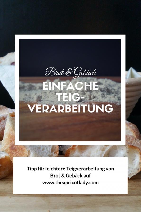 Tipp für leichtere Teigverarbeitung von Brot & Gebäck