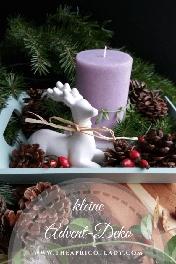kleine Advent Deko