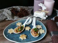 Lachs-Ceviche als festliche Vorspeise
