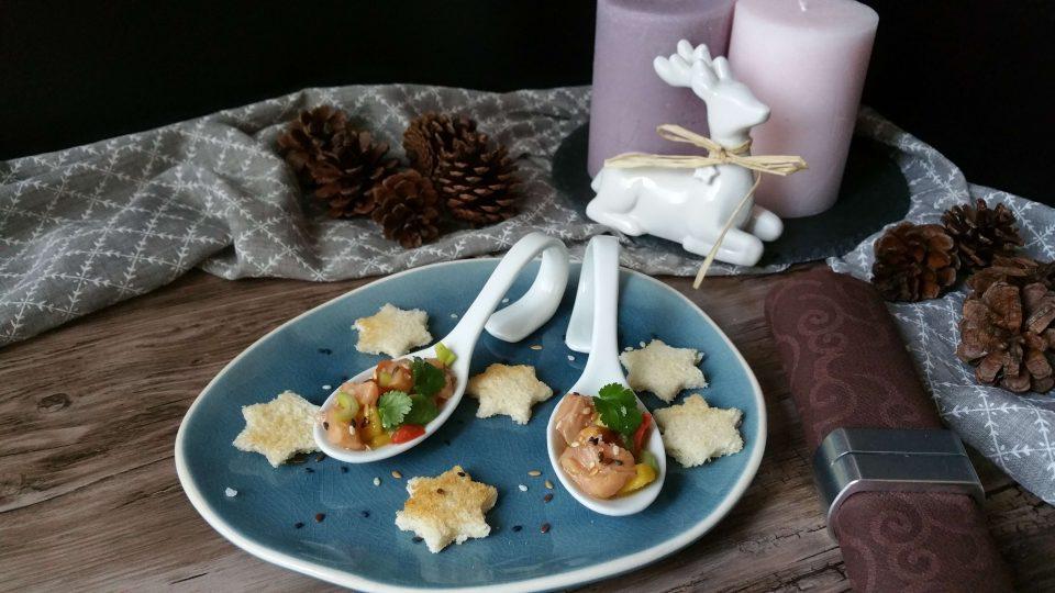 Lachs Ceviche