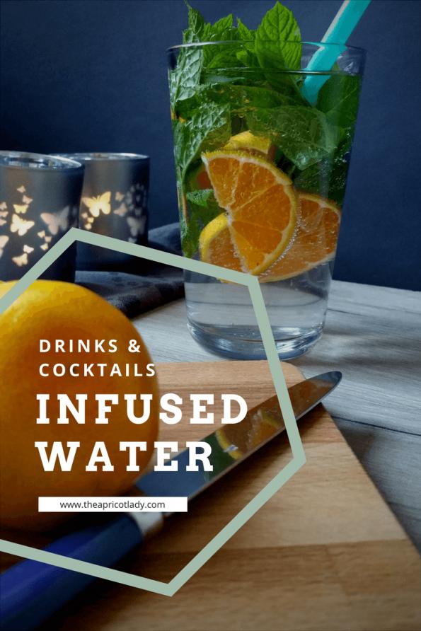 Infused Water mit Satsuma und Minze