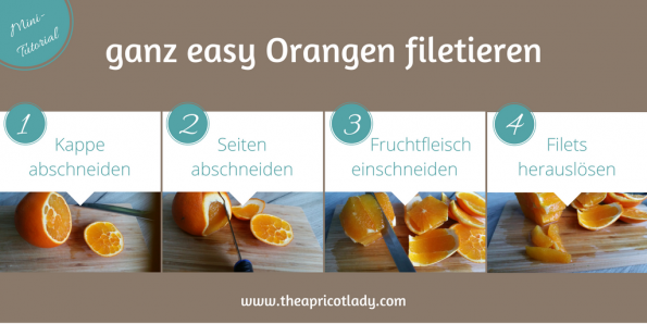 ganz easy Orangen filetieren