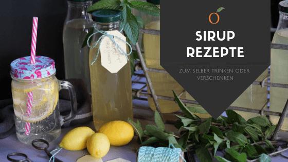 Banner Sirup Rezepte