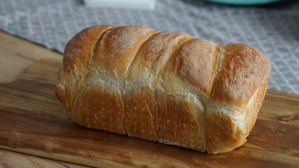 Toastbrot frisch gebacken