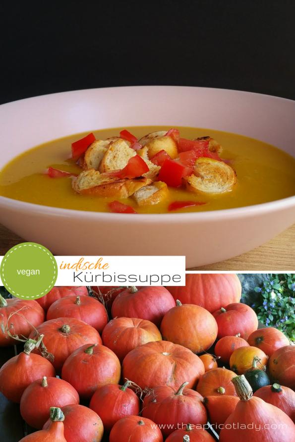 Kürbissuppe mit Orangen-Curry und Kokosmilch