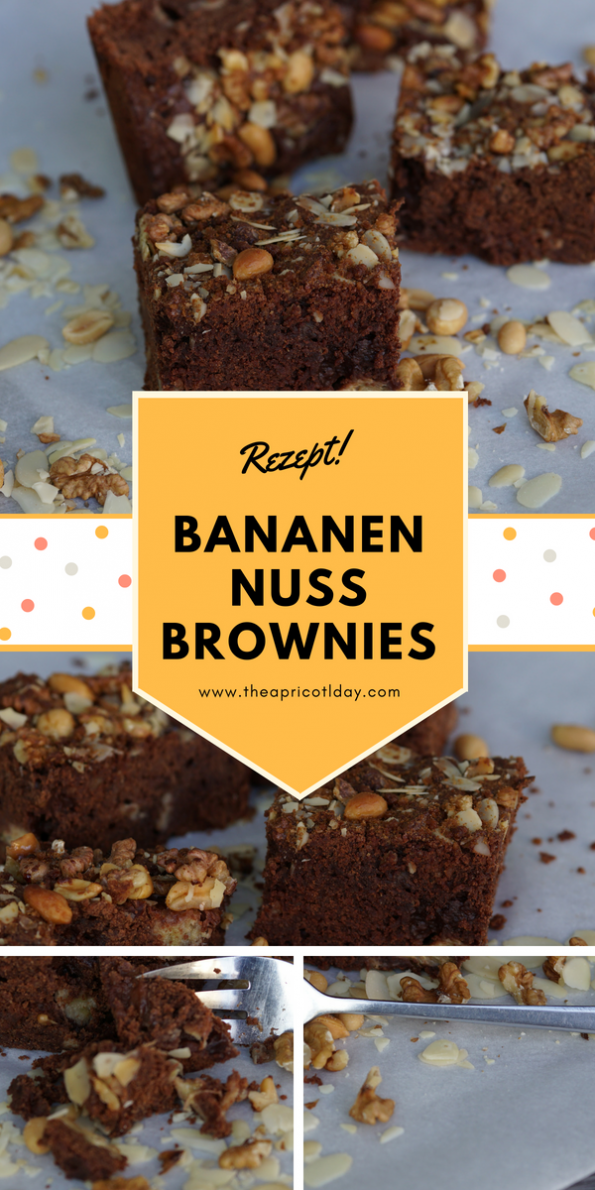 Bananen-Nuss Brownies
