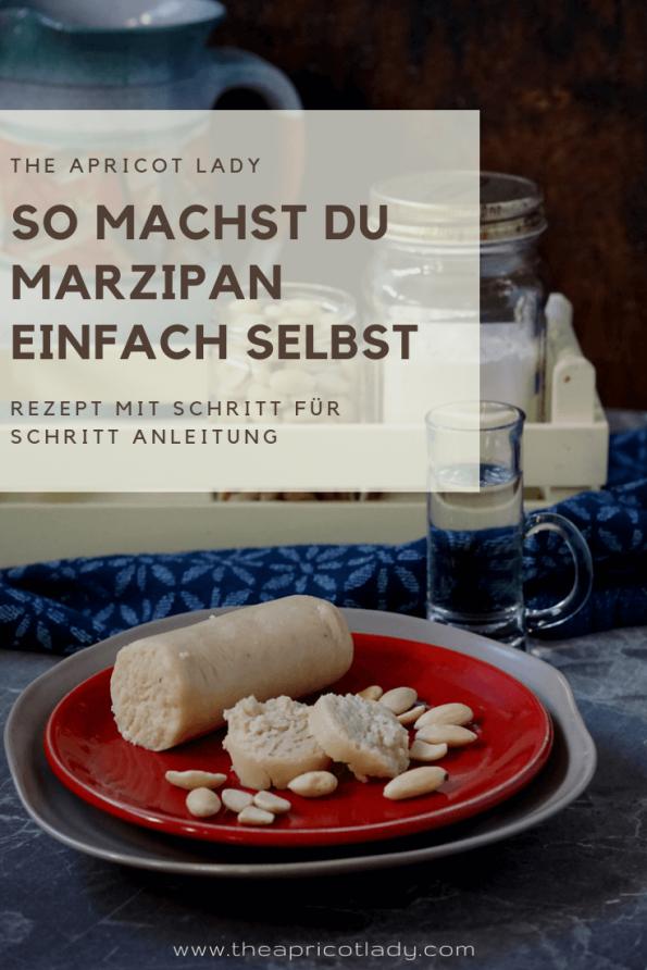 So machst du Marzipan - einfaches Rezept! #rezepte #backen #xmas #weihnachten #kekse