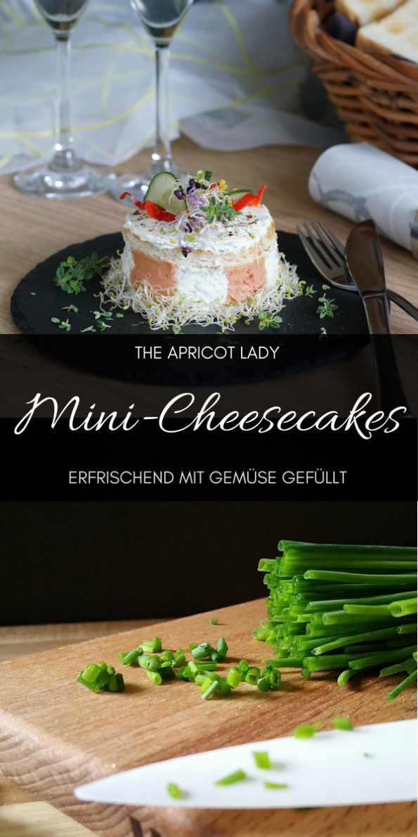 pikante Mini-Cheesecakes