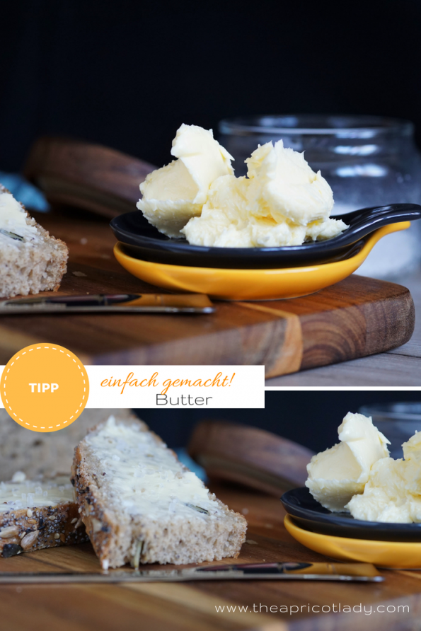 Butter für dein Brot - Butter einfach selbst machen
