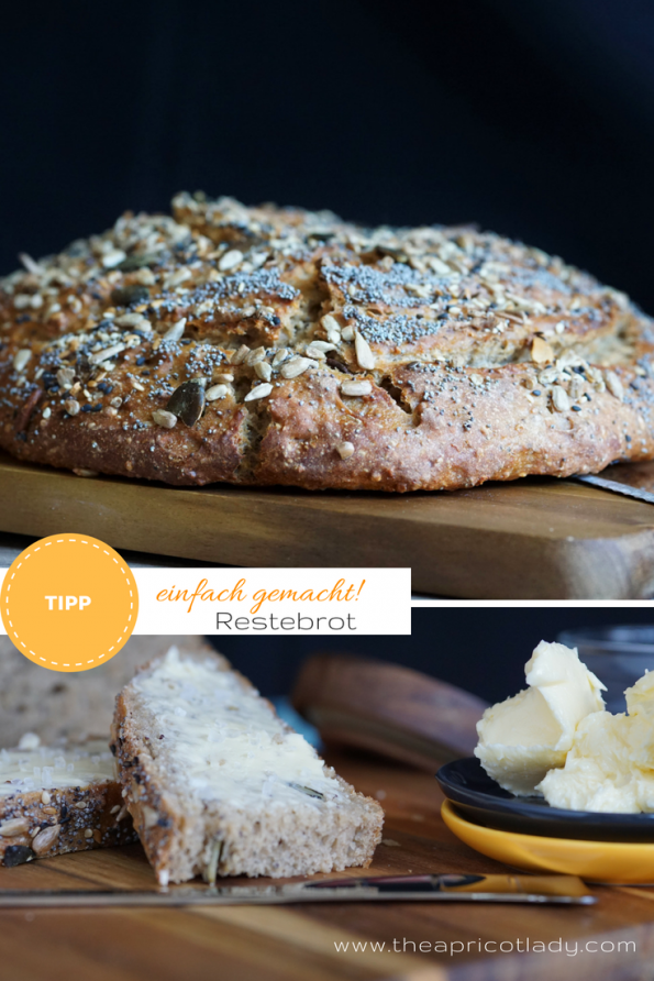 Restebrot - schnelles Brot-Rezept