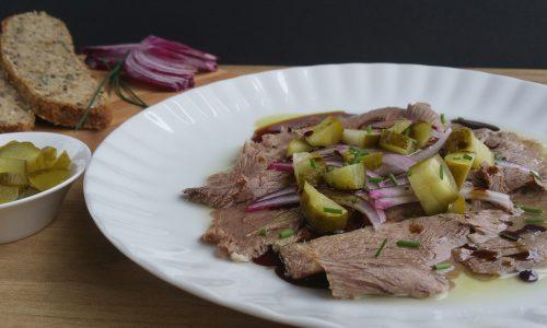 Saures Rindfleisch – traditionell genießen
