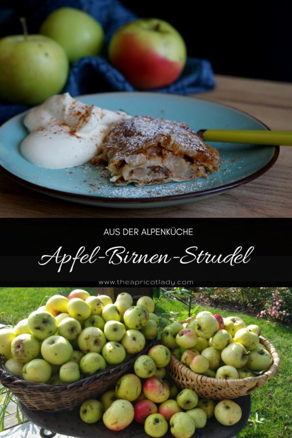 Apfel-Birnen-Strudel ein herbstlicher Genuss! #herbst #apfel #strudel #selbstgemacht #veggie #rezept