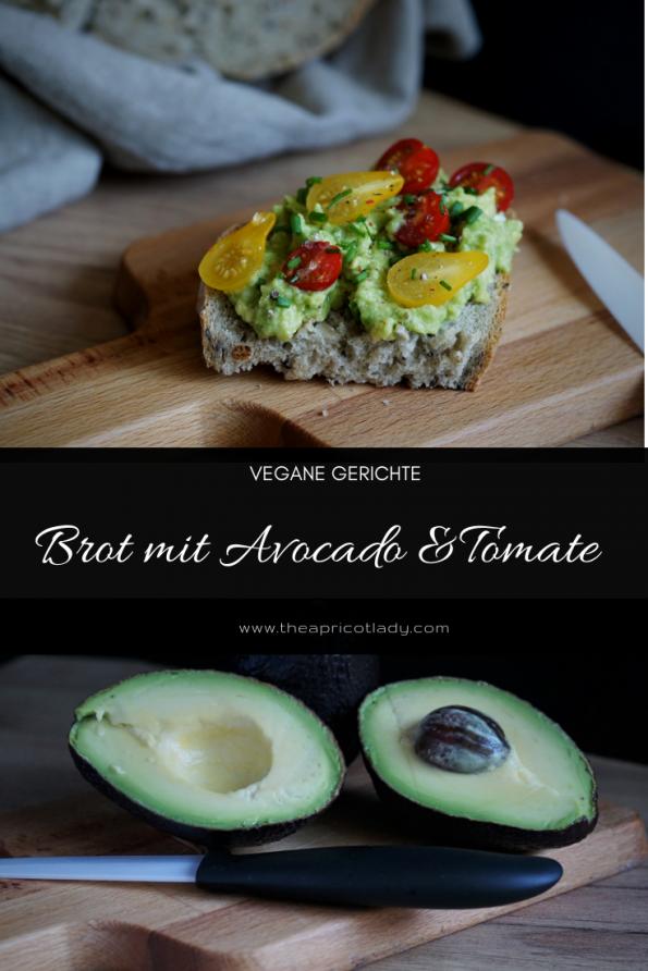 Brot mit Avocado & Tomate inkl. Tipps rund um die Avocadp #vegan #Avocado #toast #rezepte #tipps