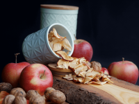 Apfelchips – gesunder Snack