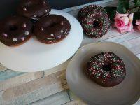 Happy donutday! Schokodounts mit Streusel & Donutkätzchen
