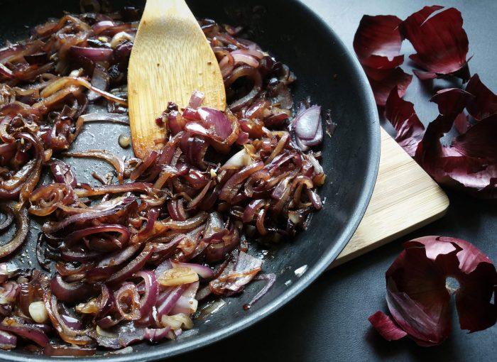 Karamellisierte Zwiebeln - ganz einfach gemacht