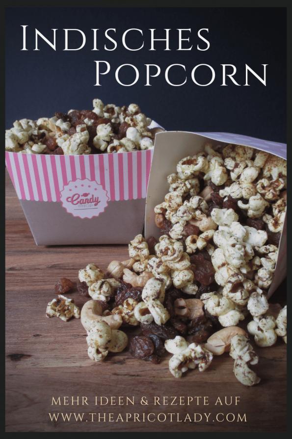 indisches Popcorn - knabbern für Mutige