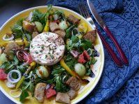 sommerlicher Salat zum Grillen