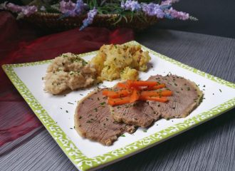 Tafelspitz mit Semmelkren & Kartoffelschmarrn