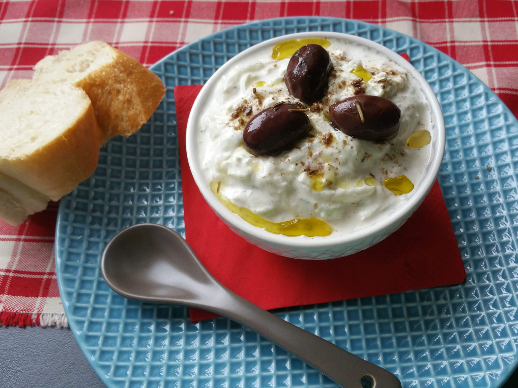 cremiger Tzatziki – einfaches Rezept
