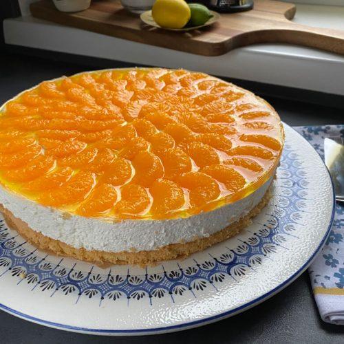 Mandarinentorte mit Zitronen-Kokoscreme