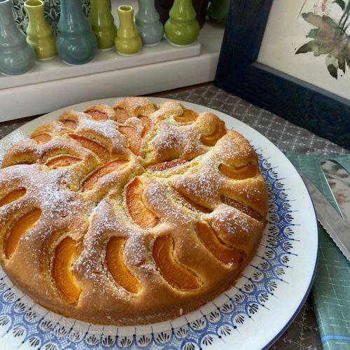 österreichischer Marillenkuchen